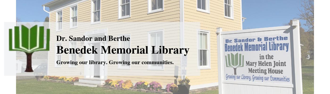 Benedek Memorial Library